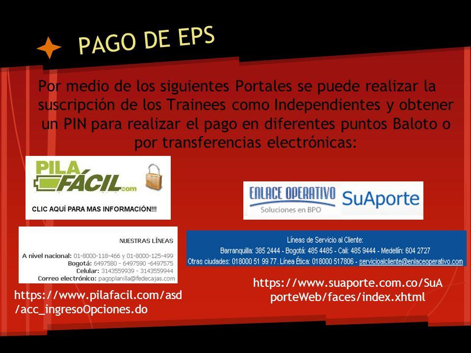 PAGO DE EPS