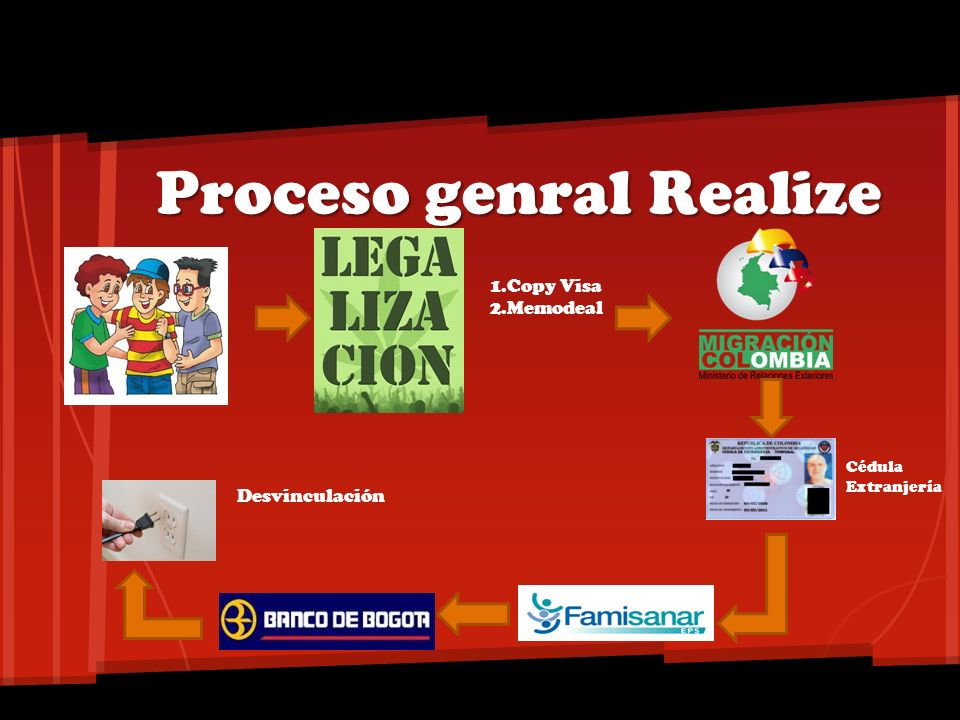 Proceso genral Realize