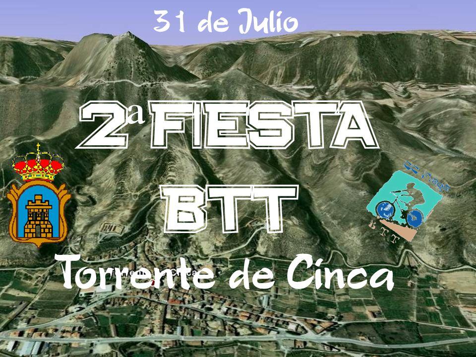 31 de Julio 2 ª FIESTA BTT Torrente de Cinca