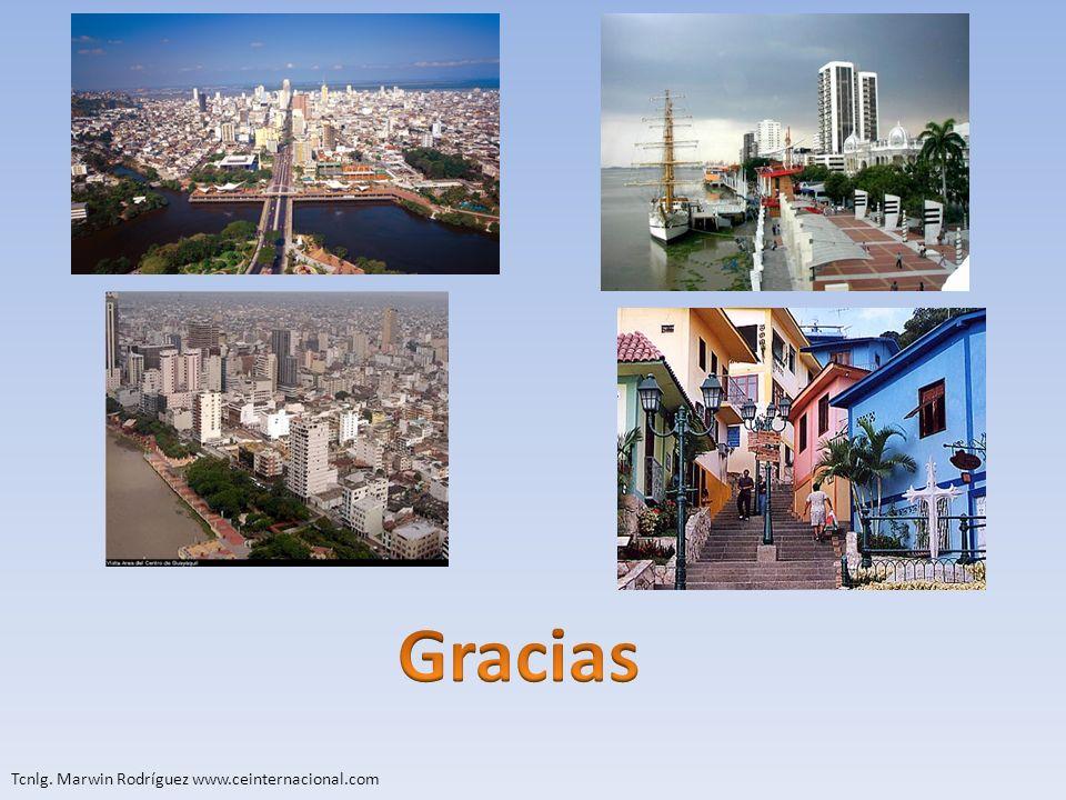 Gracias Tcnlg. Marwin Rodríguez www.ceinternacional.com