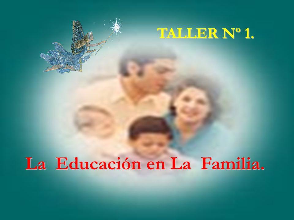 La Educación en La Familia.