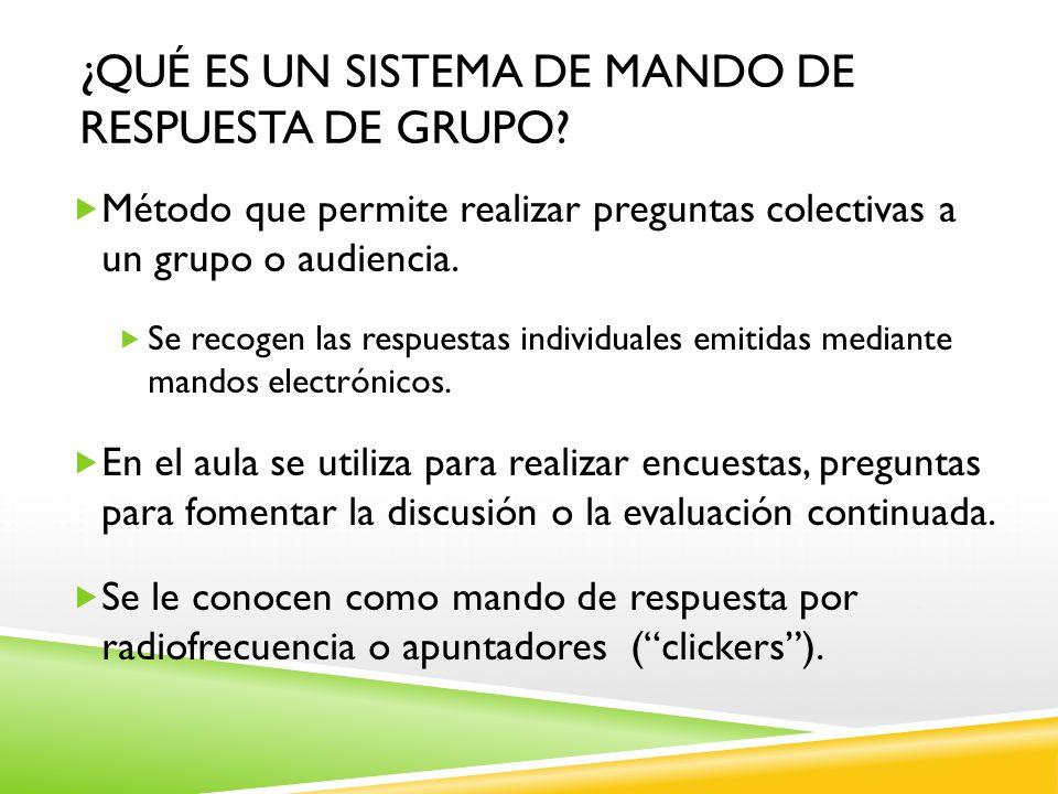 ¿qué es un sistema de mando de respuesta de grupo