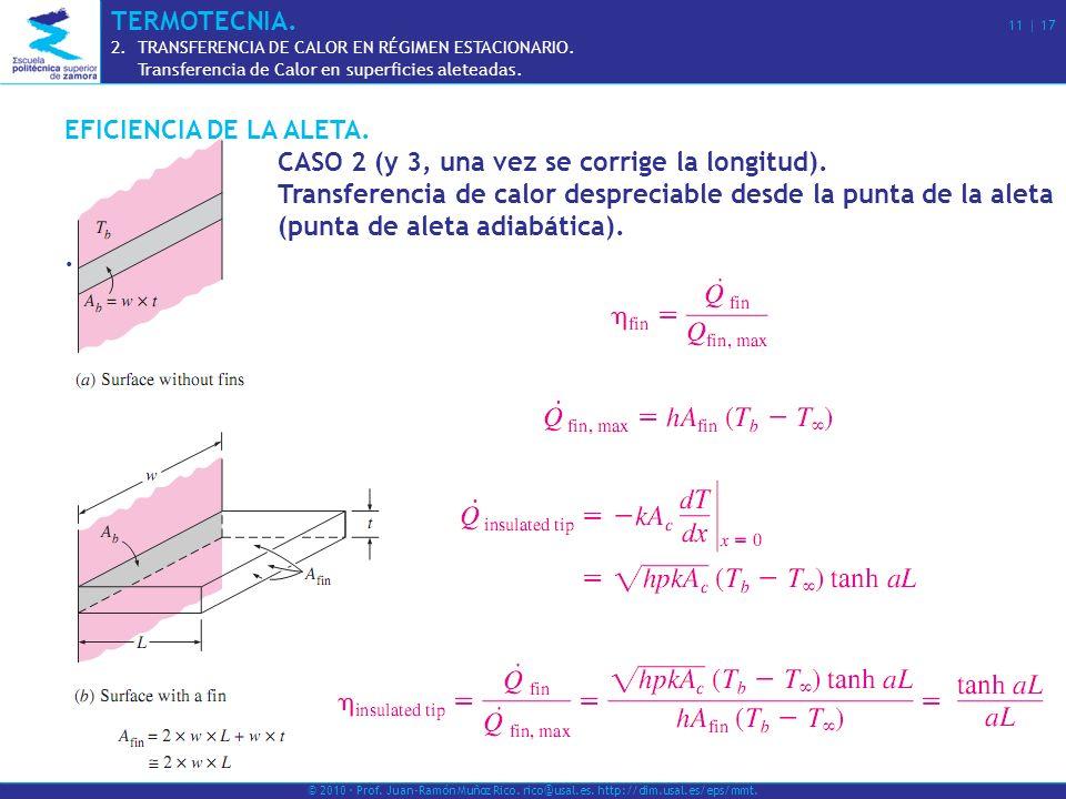 CASO 2 (y 3, una vez se corrige la longitud).