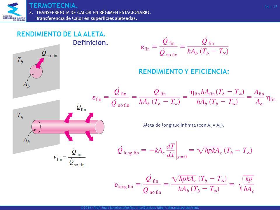 RENDIMIENTO Y EFICIENCIA: