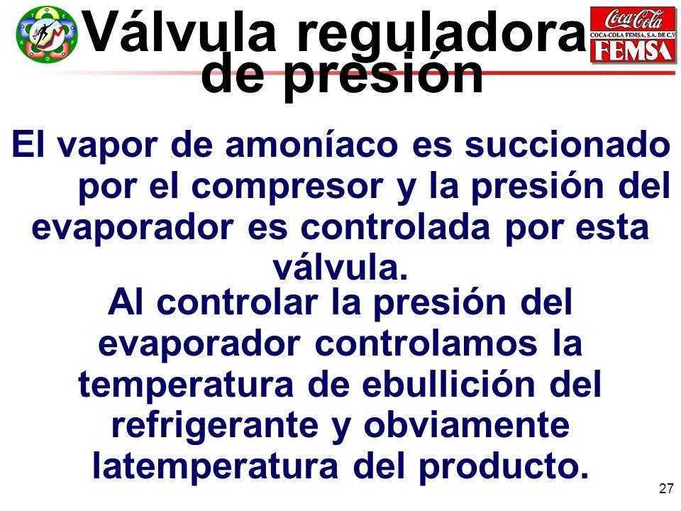 Válvula reguladora de presión