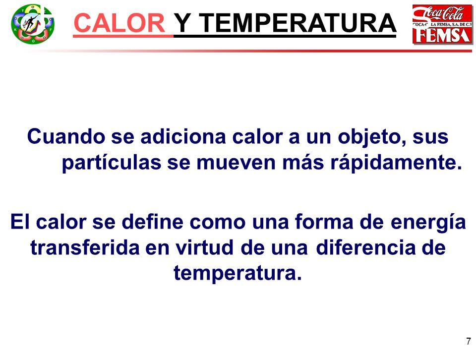 Principios básicos CALOR Y TEMPERATURA