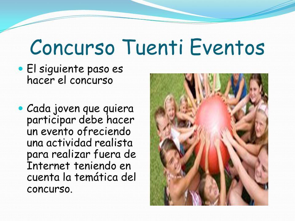 Concurso Tuenti Eventos