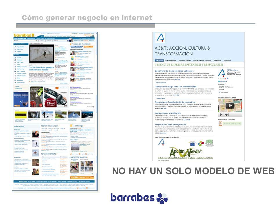 NO HAY UN SOLO MODELO DE WEB