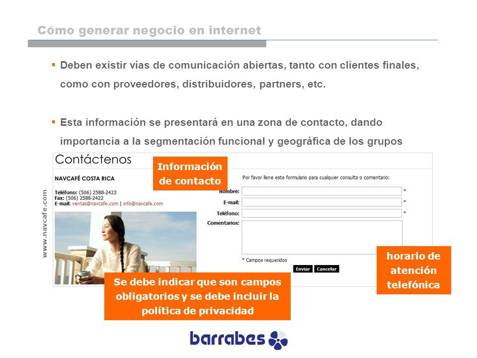 Información de contacto horario de atención telefónica