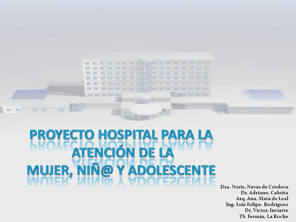 PROYECTO HOSPITAL PARA LA ATENCIÓN DE LA MUJER, NIÑ@ Y ADOLESCENTE