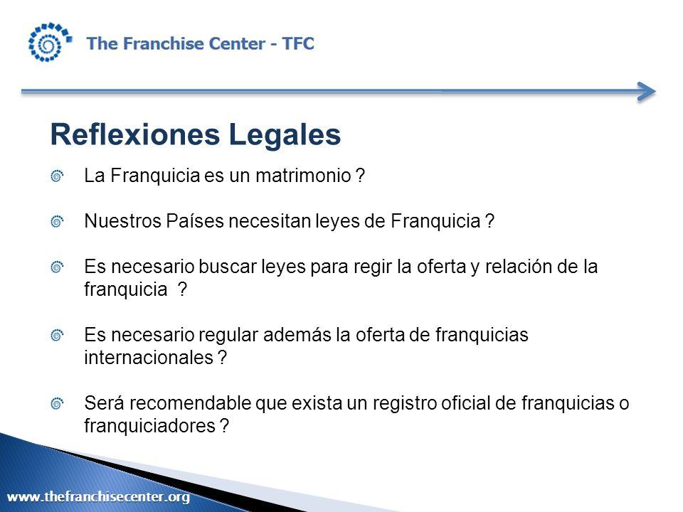Reflexiones Legales La Franquicia es un matrimonio