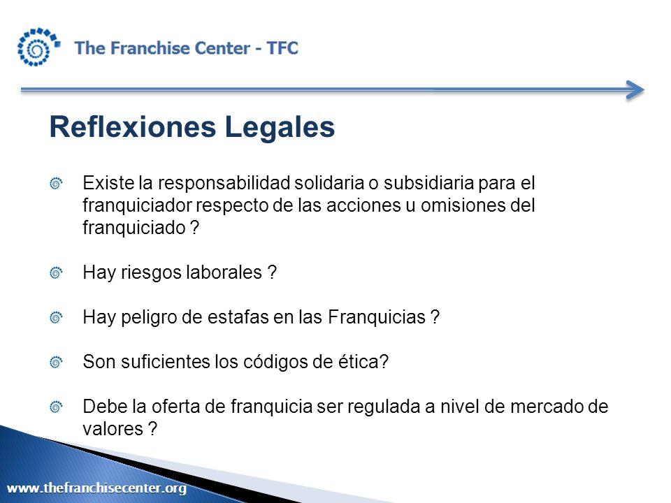 Reflexiones Legales Existe la responsabilidad solidaria o subsidiaria para el franquiciador respecto de las acciones u omisiones del franquiciado