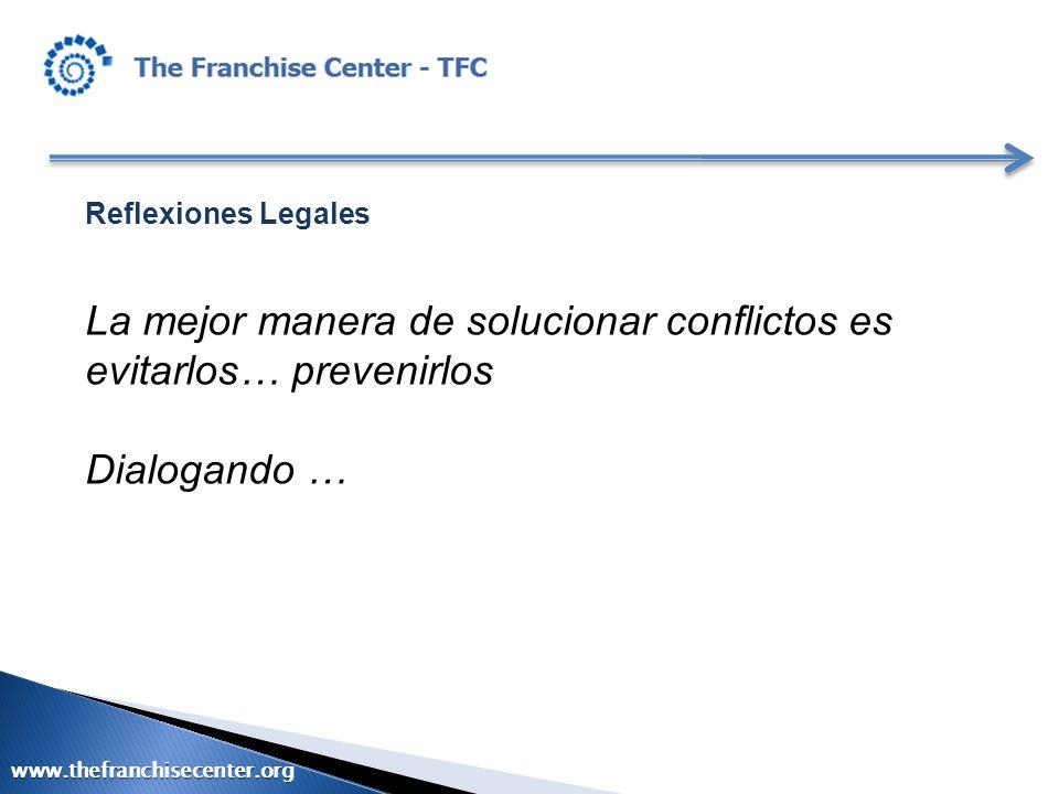 La mejor manera de solucionar conflictos es evitarlos… prevenirlos