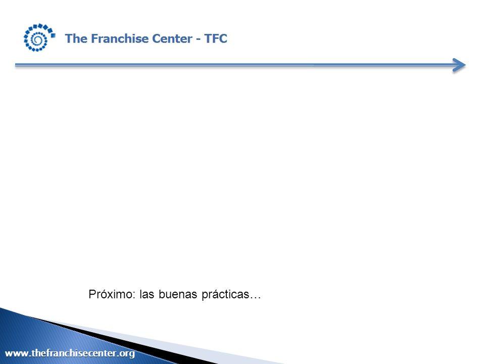 Próximo: las buenas prácticas…