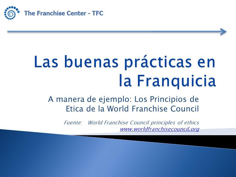 Las buenas prácticas en la Franquicia