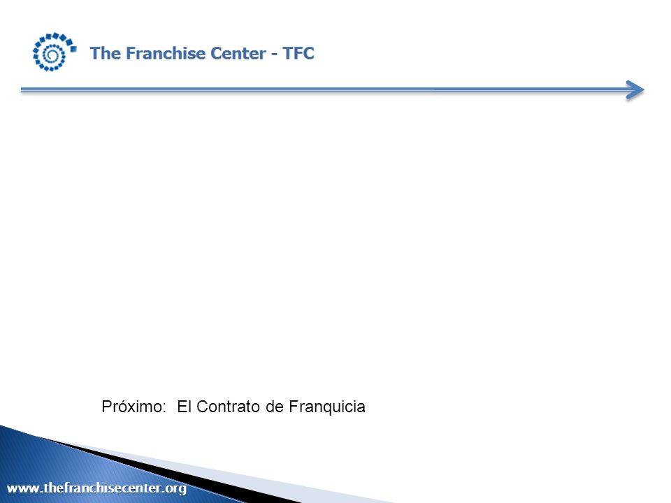 Próximo: El Contrato de Franquicia