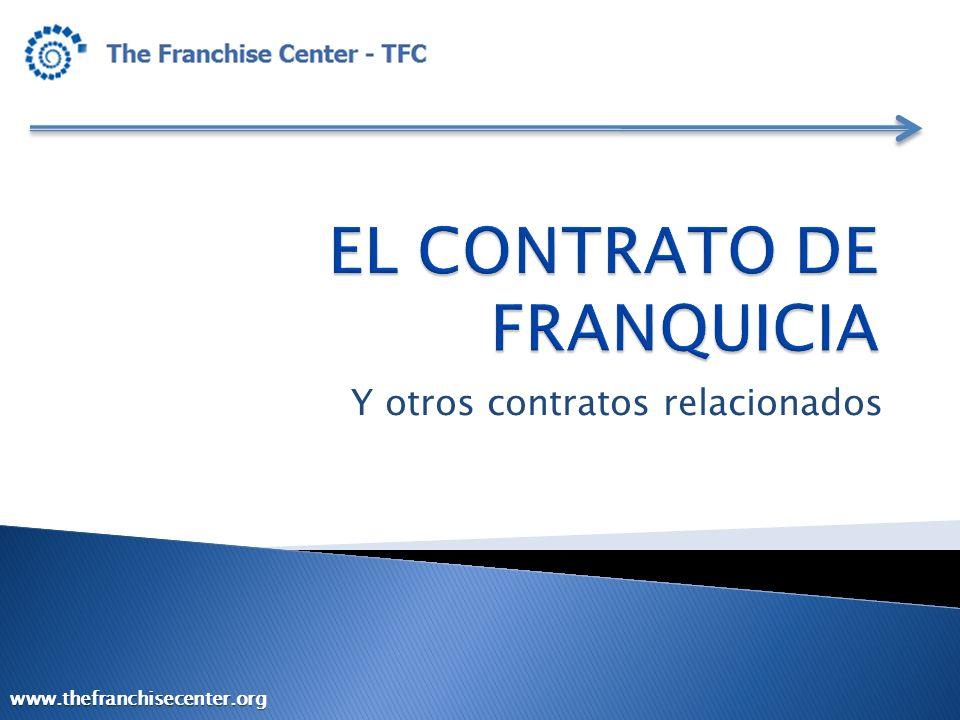 EL CONTRATO DE FRANQUICIA