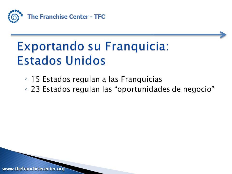 Exportando su Franquicia: Estados Unidos