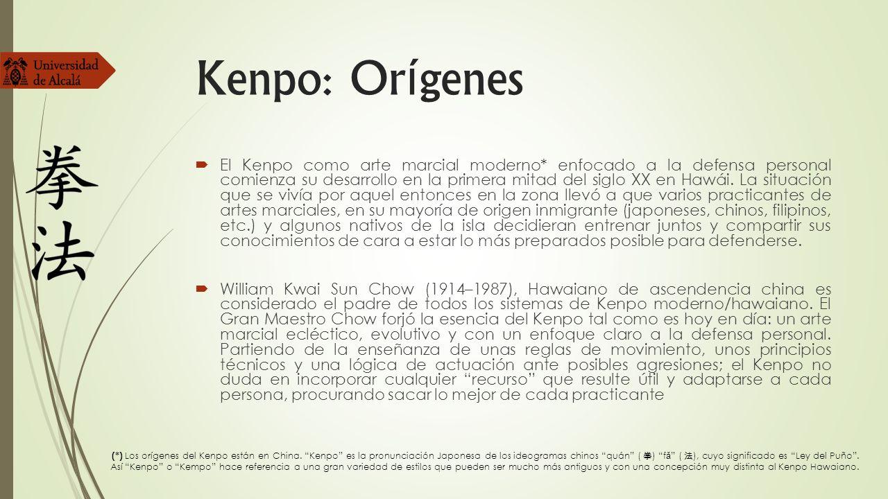 Kenpo: Orígenes