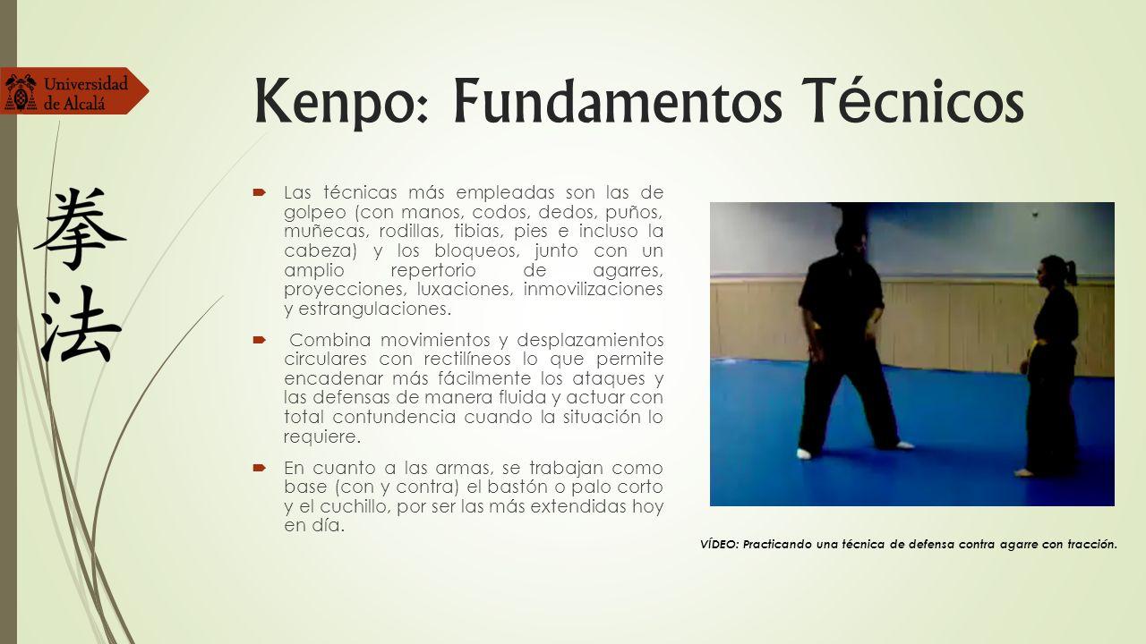 Kenpo: Fundamentos Técnicos