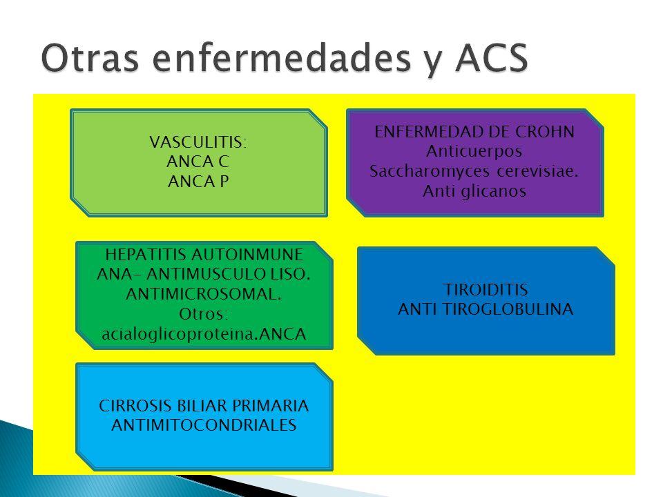 Otras enfermedades y ACS