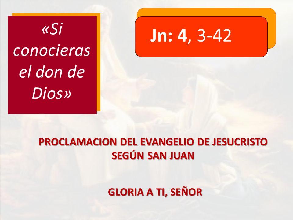 PROCLAMACION DEL EVANGELIO DE JESUCRISTO