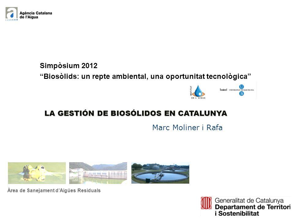 Biosòlids: un repte ambiental, una oportunitat tecnològica