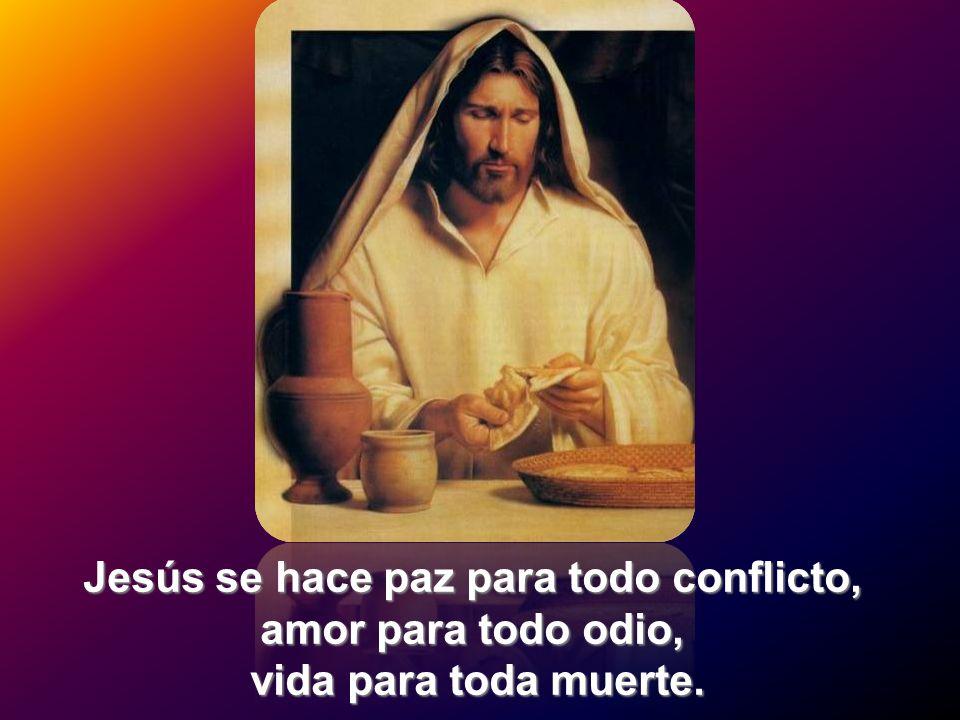 Jesús se hace paz para todo conflicto,