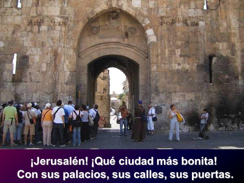 ¡Jerusalén! ¡Qué ciudad más bonita!