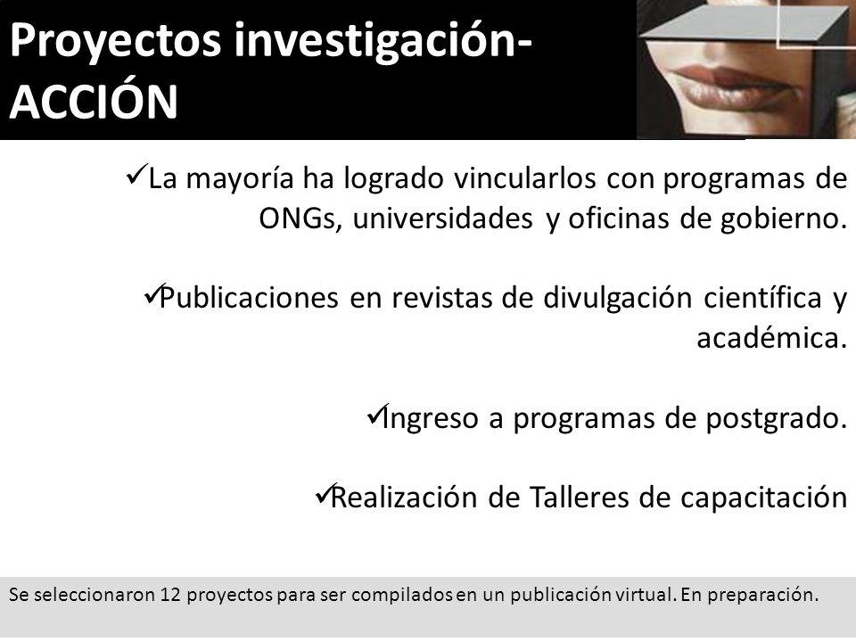 Proyectos investigación- ACCIÓN