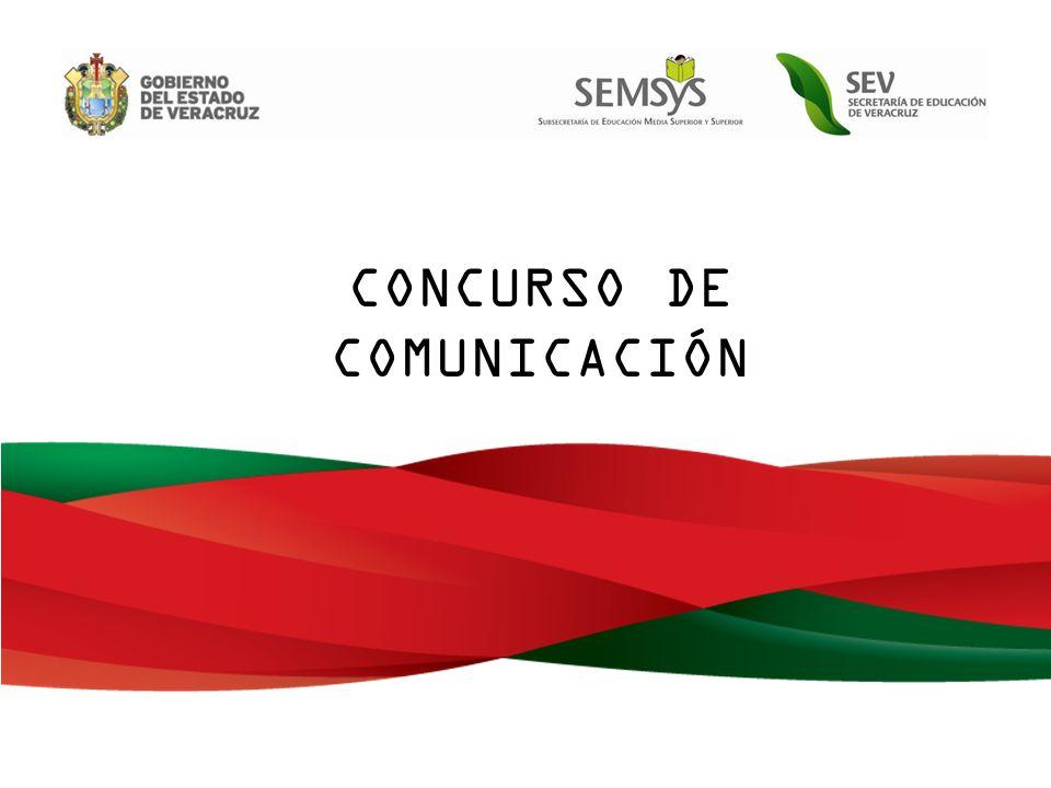 CONCURSO DE COMUNICACIÓN