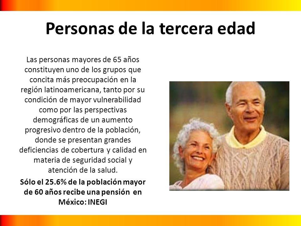 Personas de la tercera edad