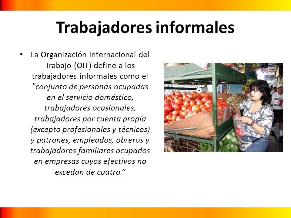 Trabajadores informales