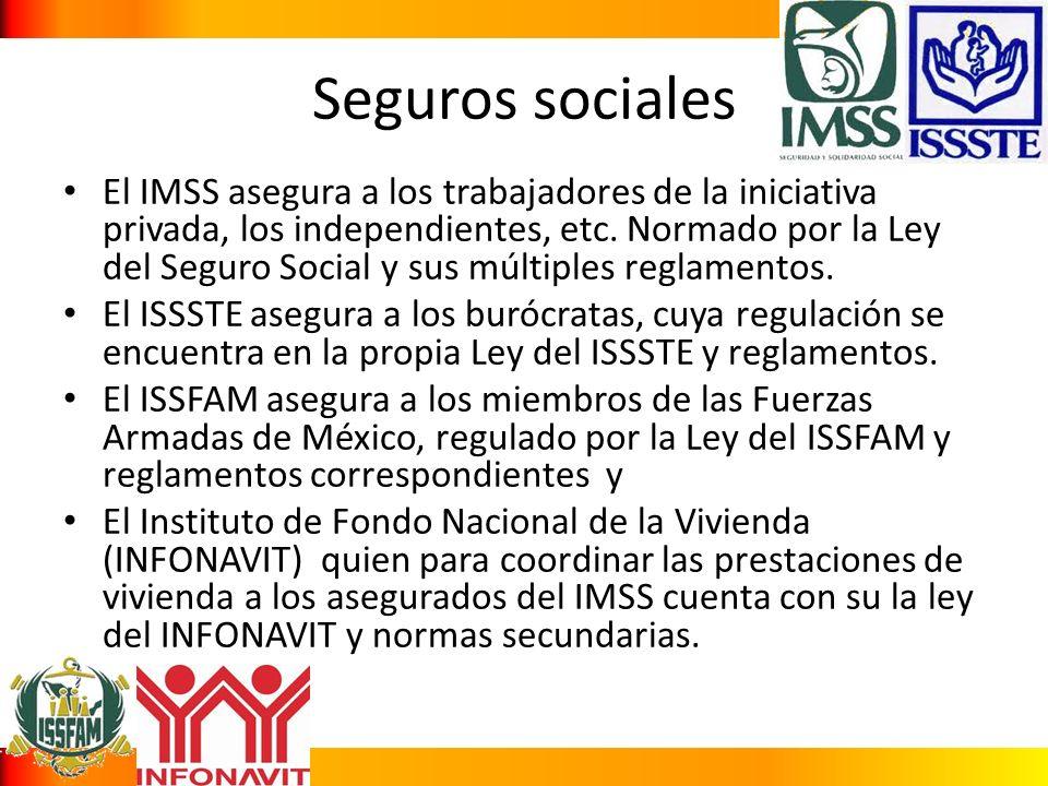 Seguros sociales