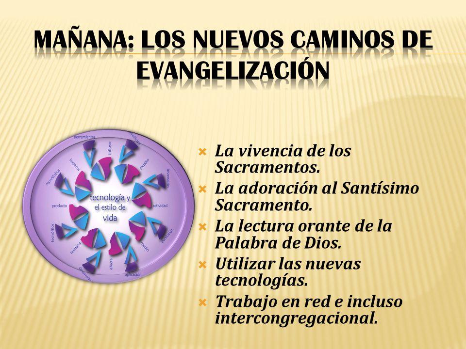 MAÑANA: Los nuevos caminos de evangelización