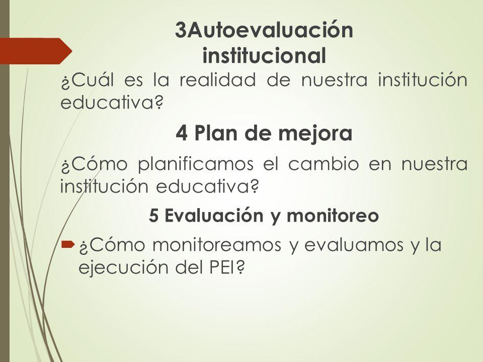 5 Evaluación y monitoreo