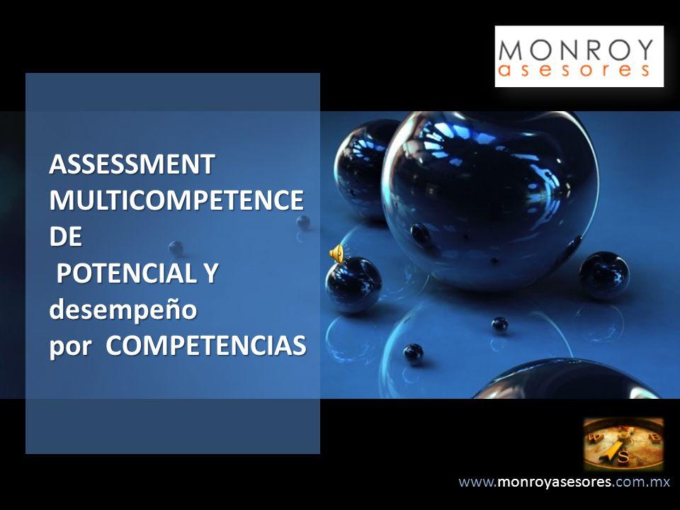 ASSESSMENT MULTICOMPETENCE DE POTENCIAL Y desempeño por COMPETENCIAS