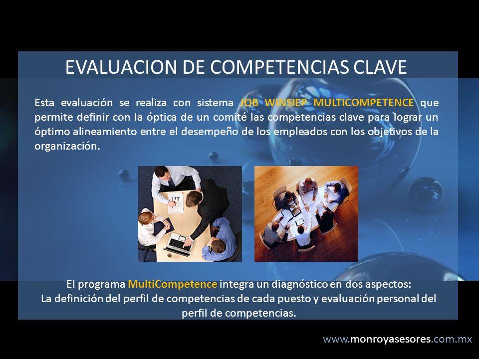 EVALUACION DE COMPETENCIAS CLAVE