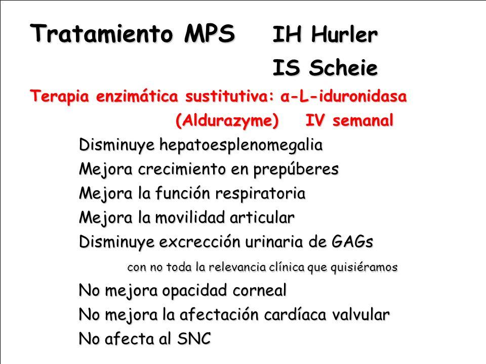 Tratamiento MPS IH Hurler