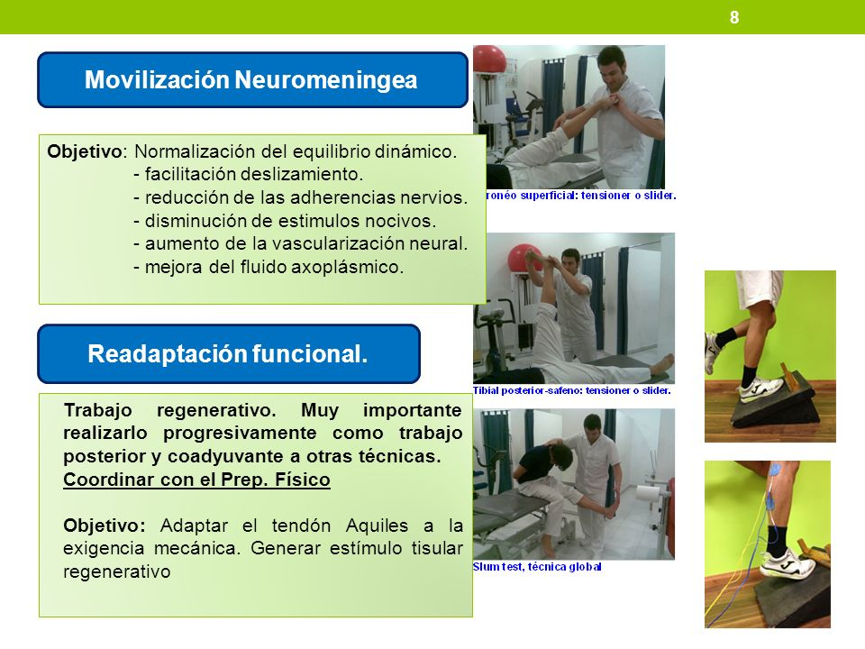 Movilización Neuromeningea Readaptación funcional.
