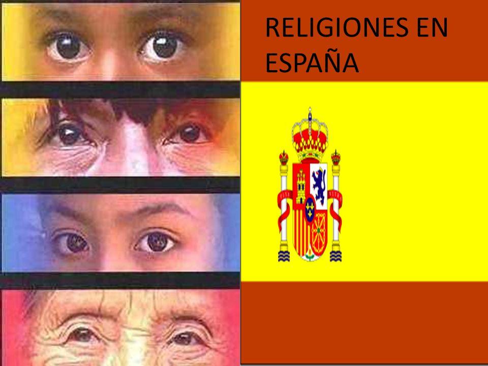 RELIGIONES EN ESPAÑA