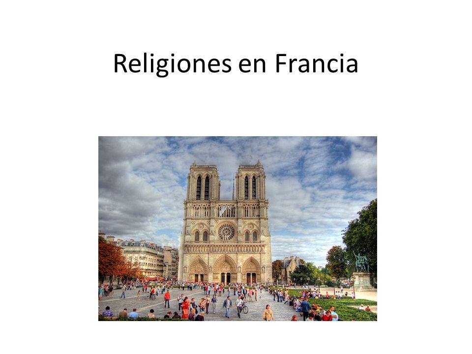 Religiones en Francia