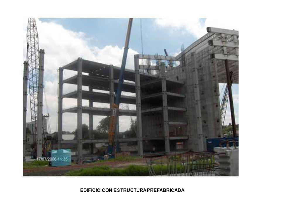 EDIFICIO CON ESTRUCTURA PREFABRICADA