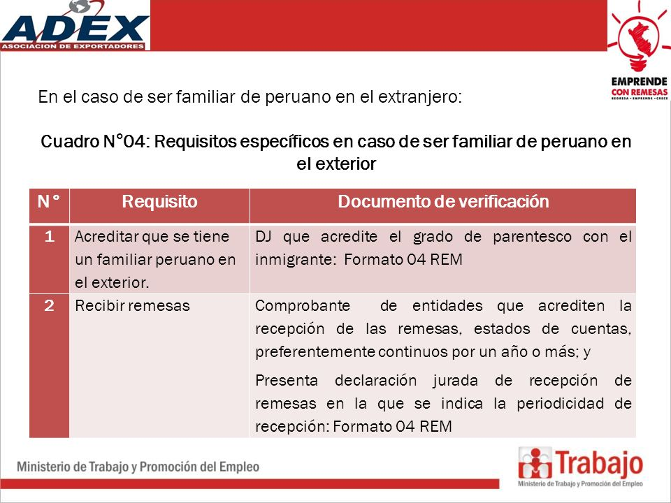 Documento de verificación