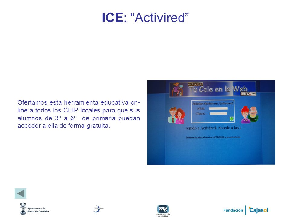 ICE: Activired