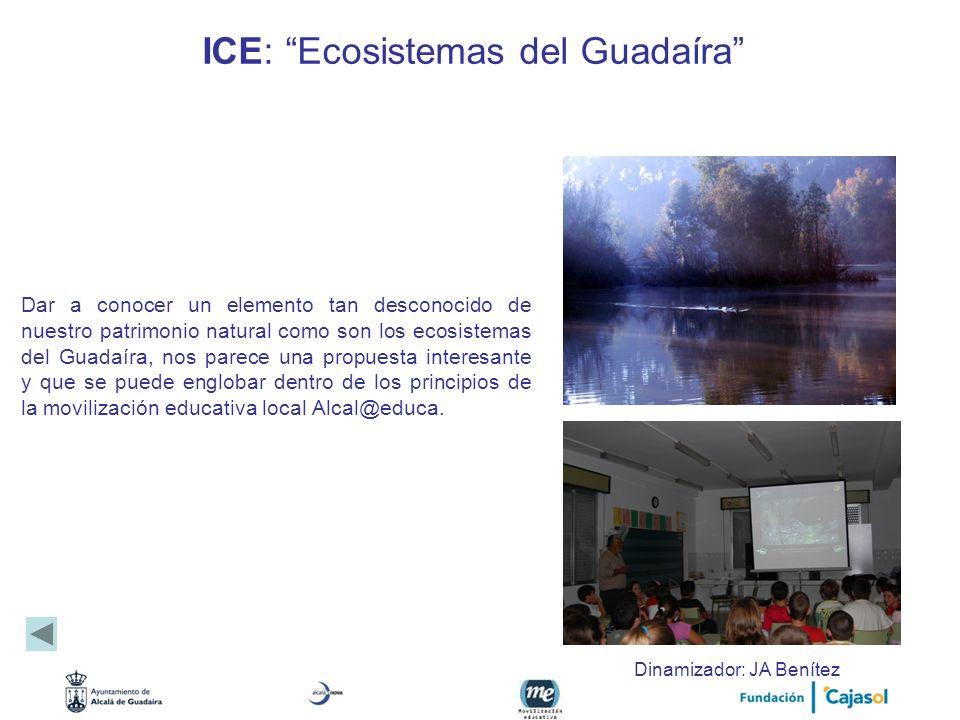 ICE: Ecosistemas del Guadaíra