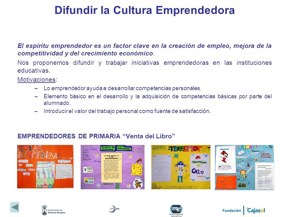 Difundir la Cultura Emprendedora