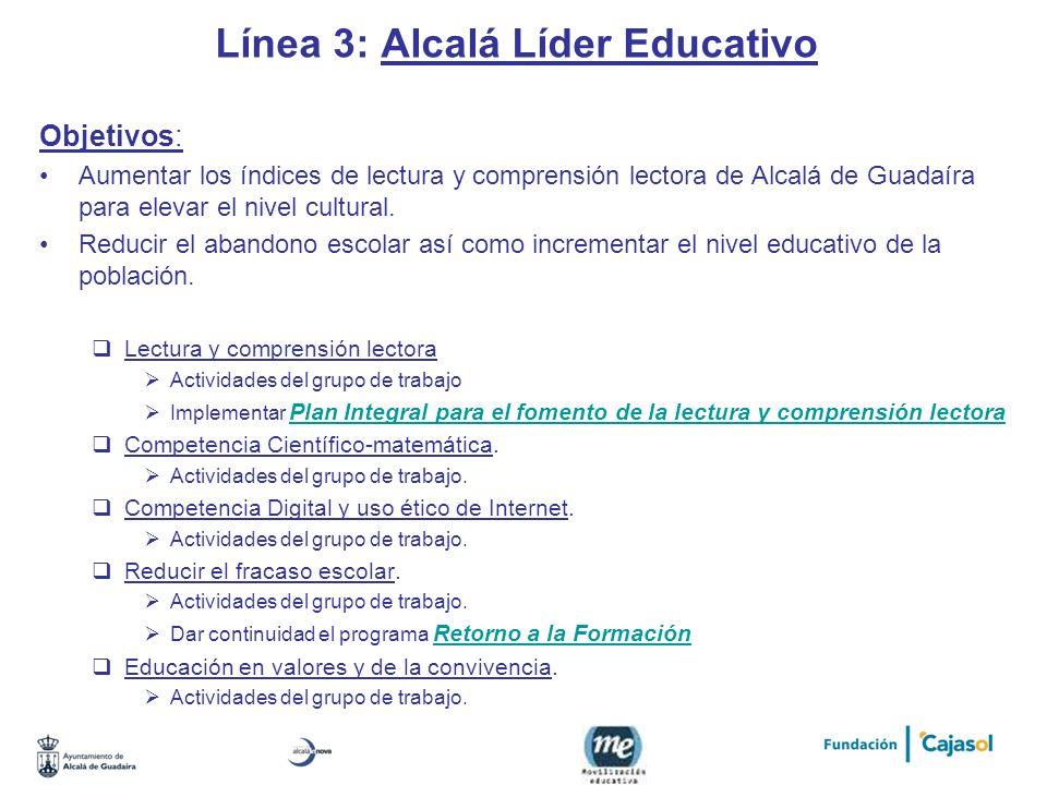 Línea 3: Alcalá Líder Educativo