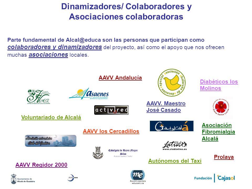 Dinamizadores/ Colaboradores y Asociaciones colaboradoras
