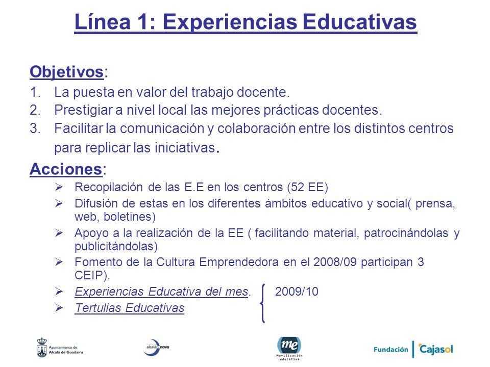Línea 1: Experiencias Educativas